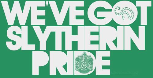 Slytherin-Pride
